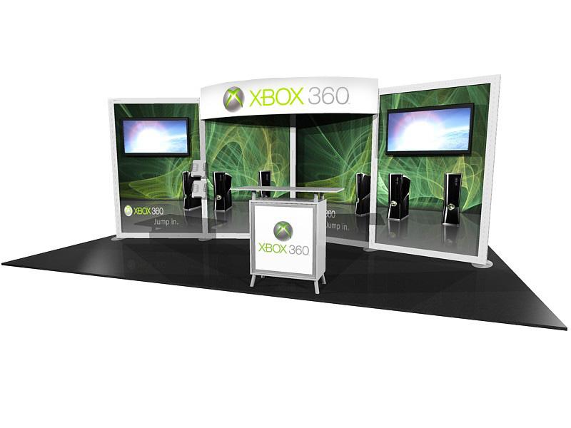 ECO-2054-V1.1 green exhibit