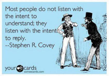 Stephen Covey Listening