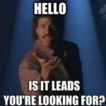 Hello tradeshow meme
