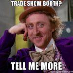 tradeshow booth meme