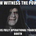 witness tradeshow meme