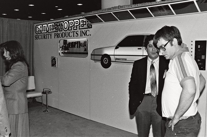 1982 Consumer Electronics Show, Photo by Alan Light