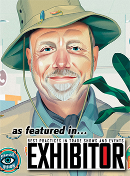 TradeshowGuy in Exhibitor Magazine