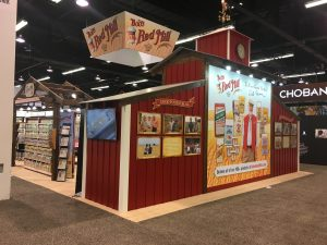 stand out at the tradeshow