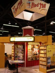 Bob's Red Mill tradeshow exhibit